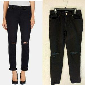 J Brand black Gothic distressed Jake jeans